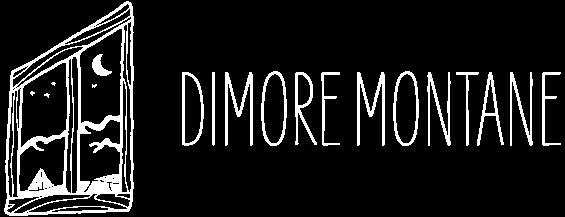 Logo Dimore Montane bianco