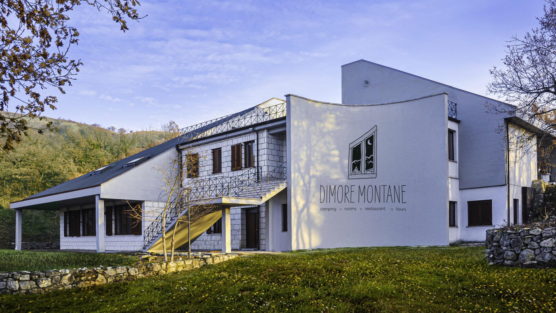 Ecolodge Dimore Montane, vista esterna laterale